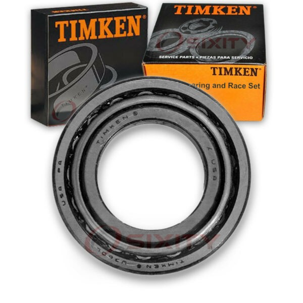 Timken Front Outer Wheel Bearing & Race Set for 1968-1970 Jeep J-3600  ba
