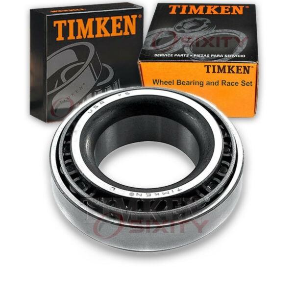 Timken Rear Inner Wheel Bearing & Race Set for 1985-1988 Pontiac Sunburst  fo
