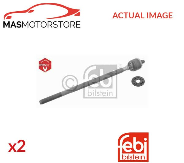 2x 32874 FEBI BILSTEIN FRONT TIE ROD AXLE JOINT PAIR P NEW OE REPLACEMENT