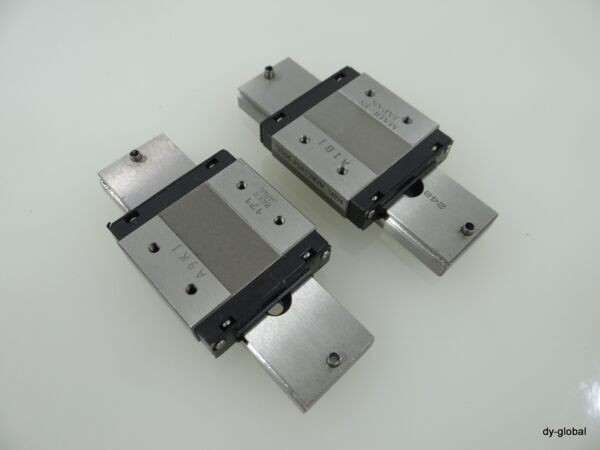 RSR12WVM+87mm Used Linear Guide Bearing THK 2Rail 2Block IKO NSK Wide Miniature