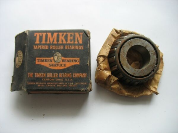 NOS Timken Tapered Roller Bearing 02872 Cone In Box R12546