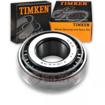 Timken Rear Outer Wheel Bearing & Race Set for 1994-1998 Audi Cabriolet  eu