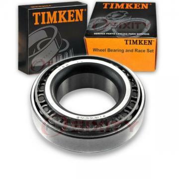 Timken Wheel Bearing & Race Set for 1985-1987 GMC S15  ho