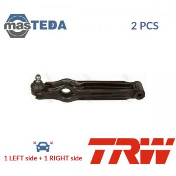 2x TRW LOWER LH RH TRACK CONTROL ARM PAIR JTC412 G NEW OE REPLACEMENT