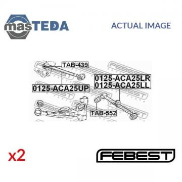 2x FEBEST REAR CONTROL ARM WISHBONE BUSH PAIR TAB-552 L NEW OE REPLACEMENT