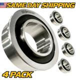 (4 Pack) Front Wheel Bearing Replaces John Deere R70 R72, R92, S80, S82, S92