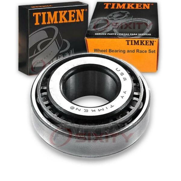Timken Rear Outer Wheel Bearing & Race Set for 1985-1988 Pontiac Sunburst  uo #1 image