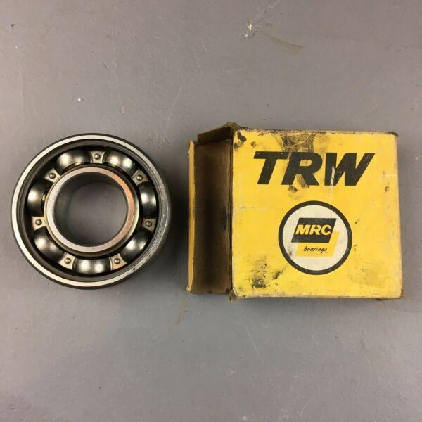MRC TRW 307S Open Deep Grove Single Row Ball Bearing NOS OEM 307-S #1 image