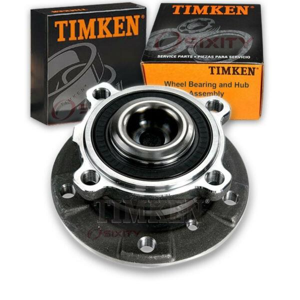 Timken Front Wheel Bearing & Hub Assembly for 2008-2010 BMW 535i Left Right yp #1 image