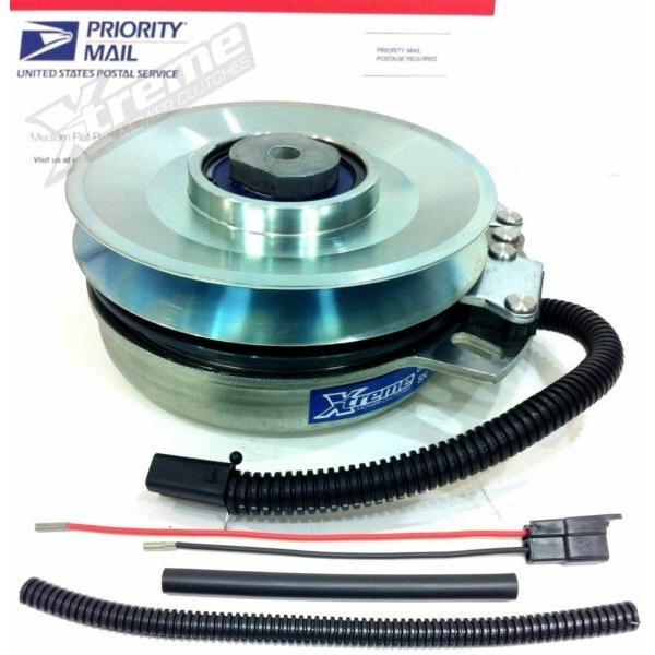 "PTO Clutch For John Deere TCA14535 -Bearing Upgrade- 1.125""ID w/ Wire Repair Kit #1 image"
