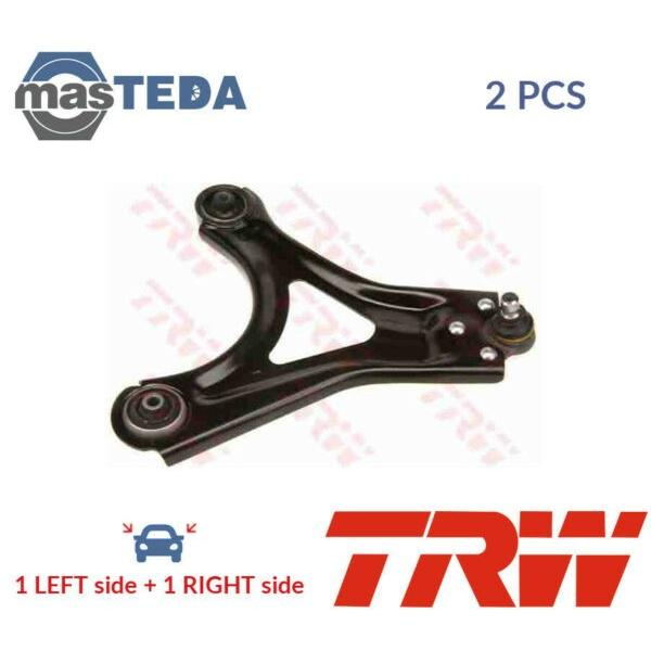 2x TRW FRONT LH RH TRACK CONTROL ARM PAIR JTC164 P NEW OE REPLACEMENT #1 image