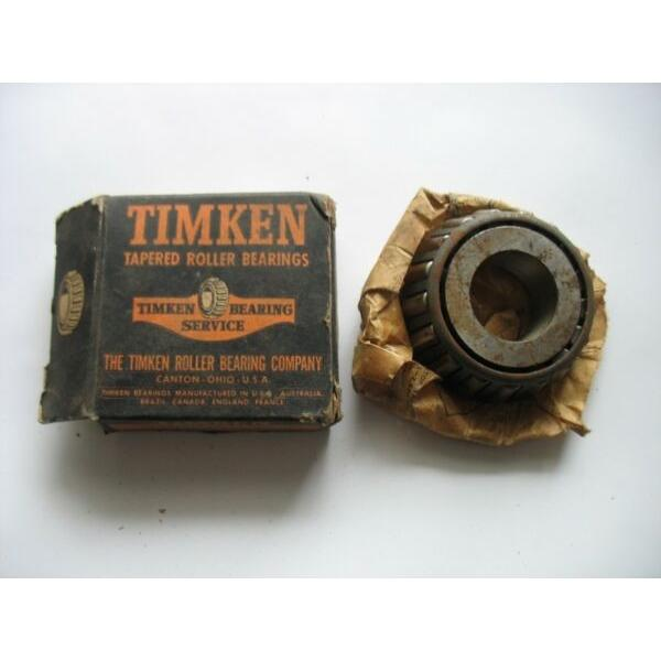 NOS Timken Tapered Roller Bearing 02872 Cone In Box R12546 #1 image